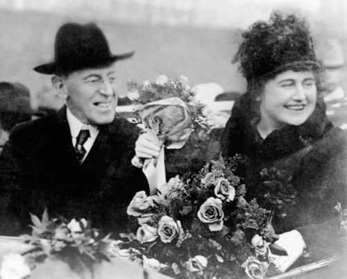 Woodrow and Edith Wilson